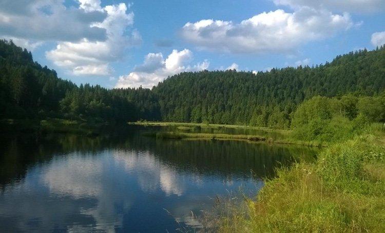 Lac de lispach les plus beaux endroits de France