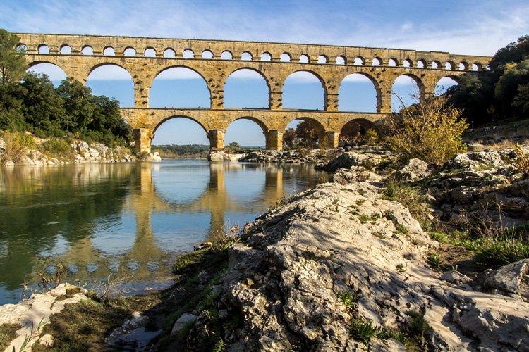 Pont du Gard les plus beaux endroits de France