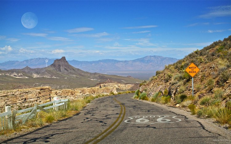 Road trip route 66