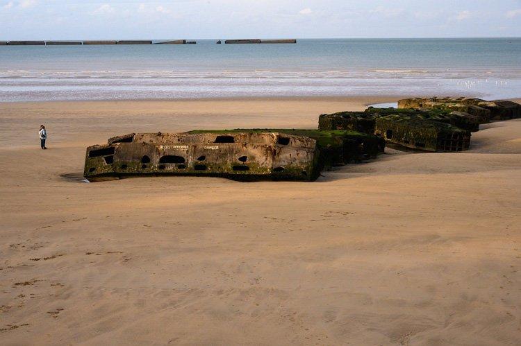 plage-débarquement-Normandie