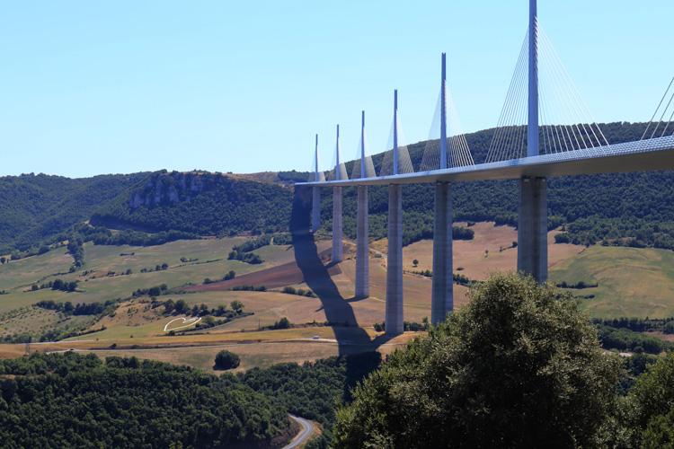 Viaduc de Millau Bas