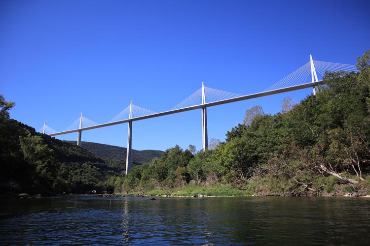 Viaduc de Millau Tarn