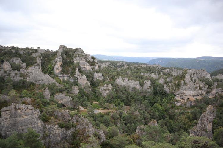Cité de pierre Aveyron