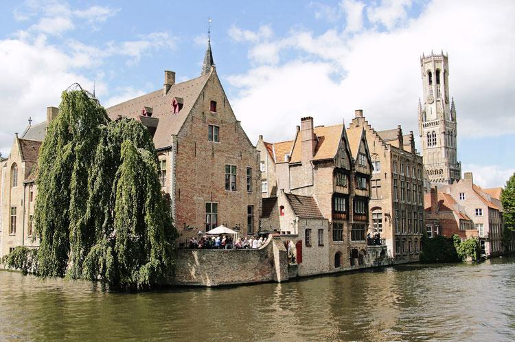 Bruges les plus belles villes d'Europe