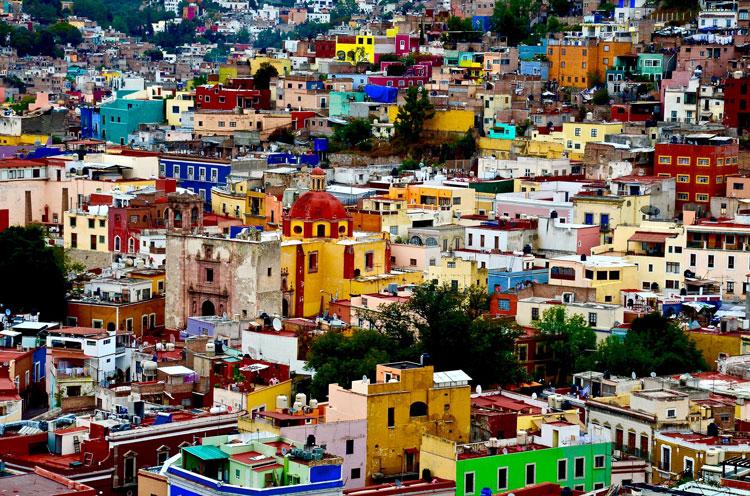 Quoi voir au Mexique Guanajato