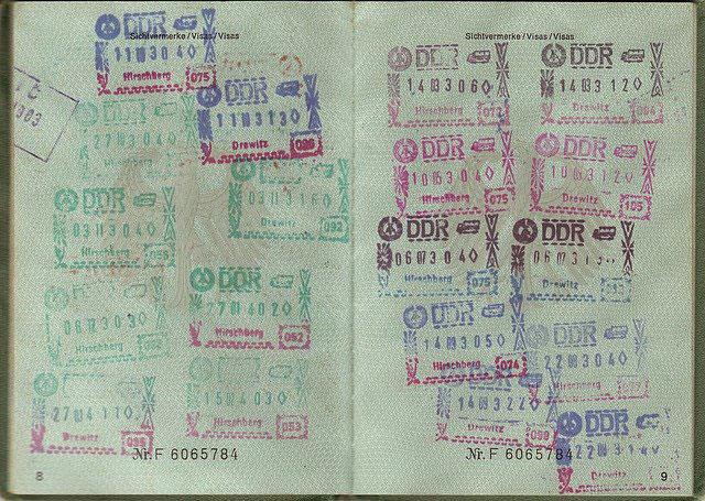 Les visas de voyage sur passeport