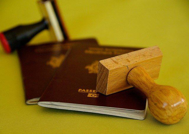 tampon passeport
