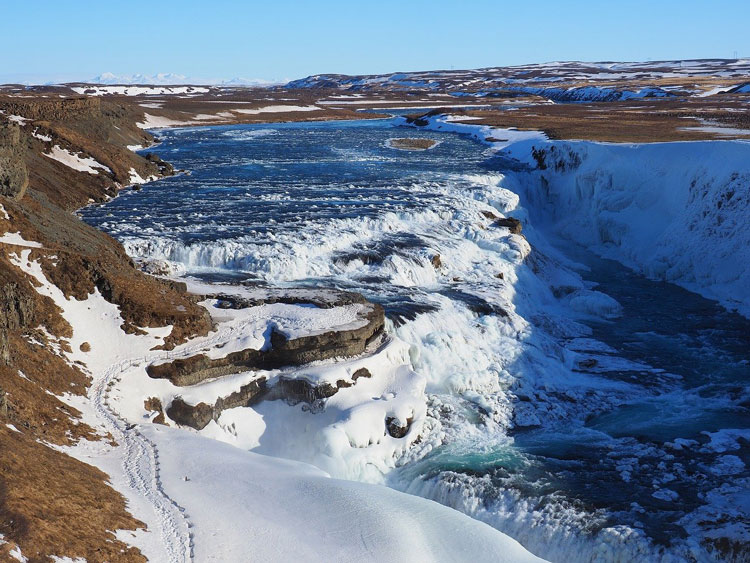 Les plus belles cascades du monde Gullfoss
