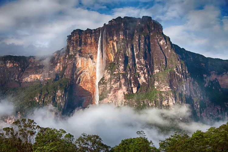 Les plus belles chutes d'eau du monde salto Angel